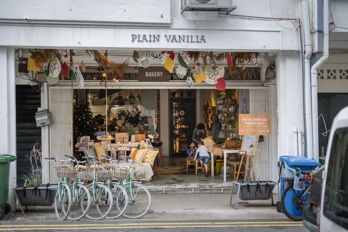 Plain Vanilla bakery in Tiong Bahru, the city's hipster enclave.