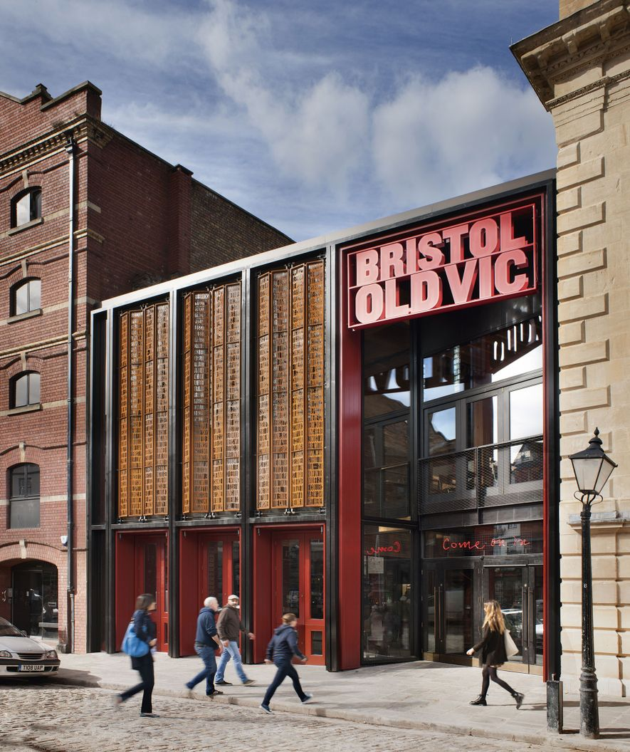Bristol Old Vic, the English-speaking world's oldest continuously working theatre. Its recent renovationbring its long history ...