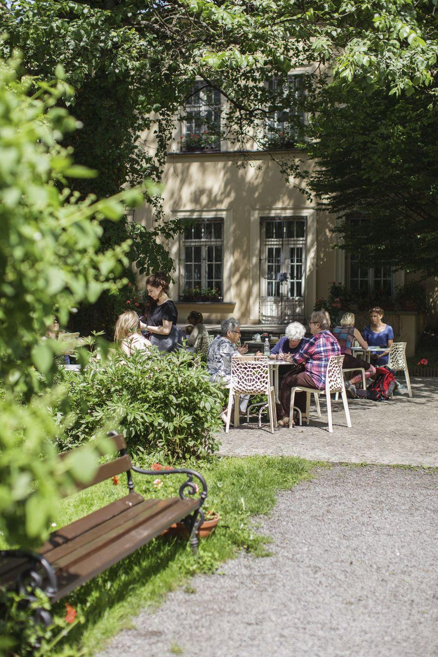 Mehoffer Garden.