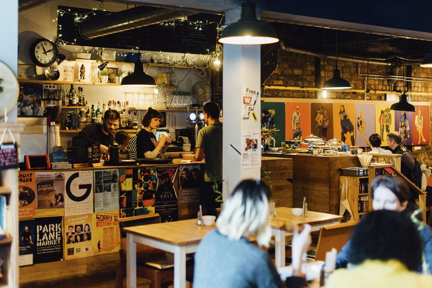 The Glad Cafe, a music venue, cafe and social enterprise run by The Glad Foundation, which ...