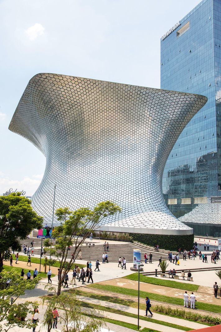 The Soumaya Museum in Plaza Carso is one of Mexico City's most iconic buildings.