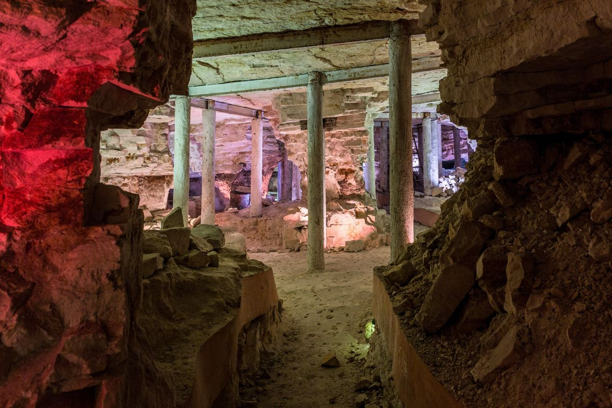 Krzemionki Prehistoric Striped Flint Mining Region, Poland