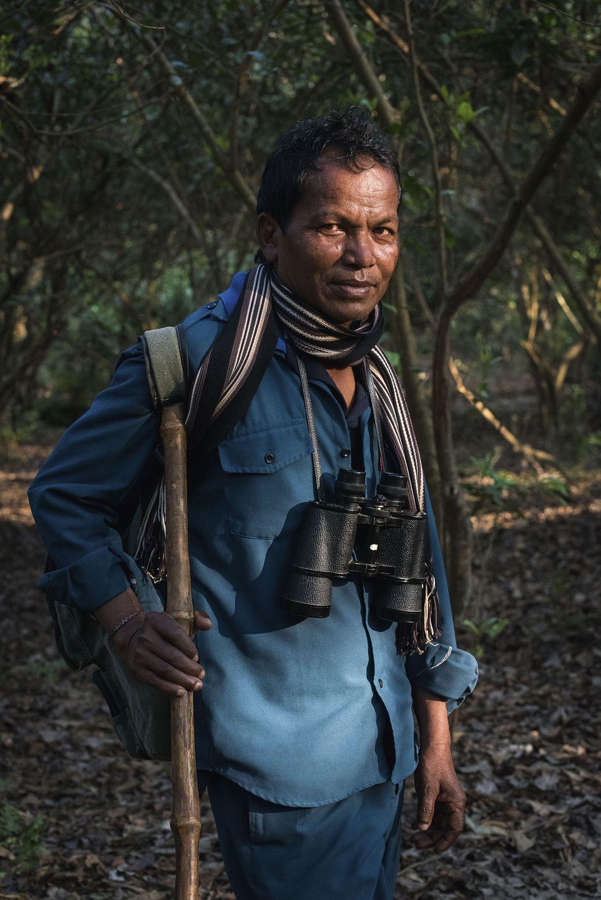Raj, a guide in Chitwan.
