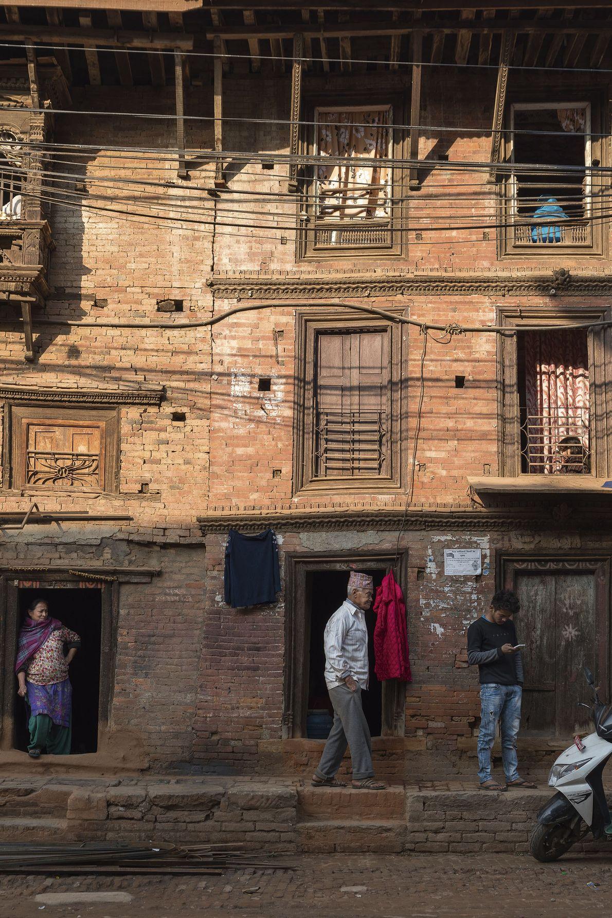 Street scene in Bhaktapur