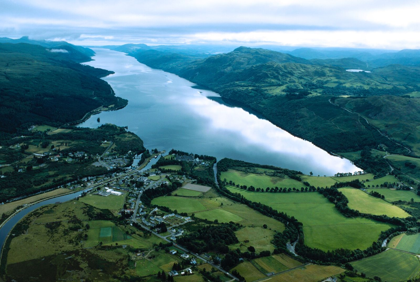The size of Loch Ness – nearly 40km long, and in places over 200m deep – ...