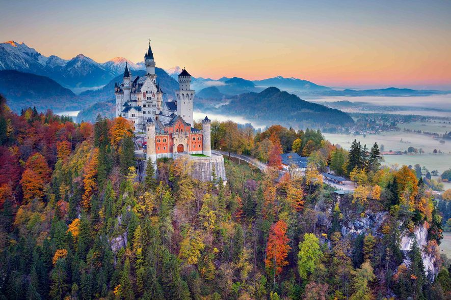 Long before it helped to inspire Sleeping Beauty Castle at Disneyland, Neuschwanstein was a refuge for …