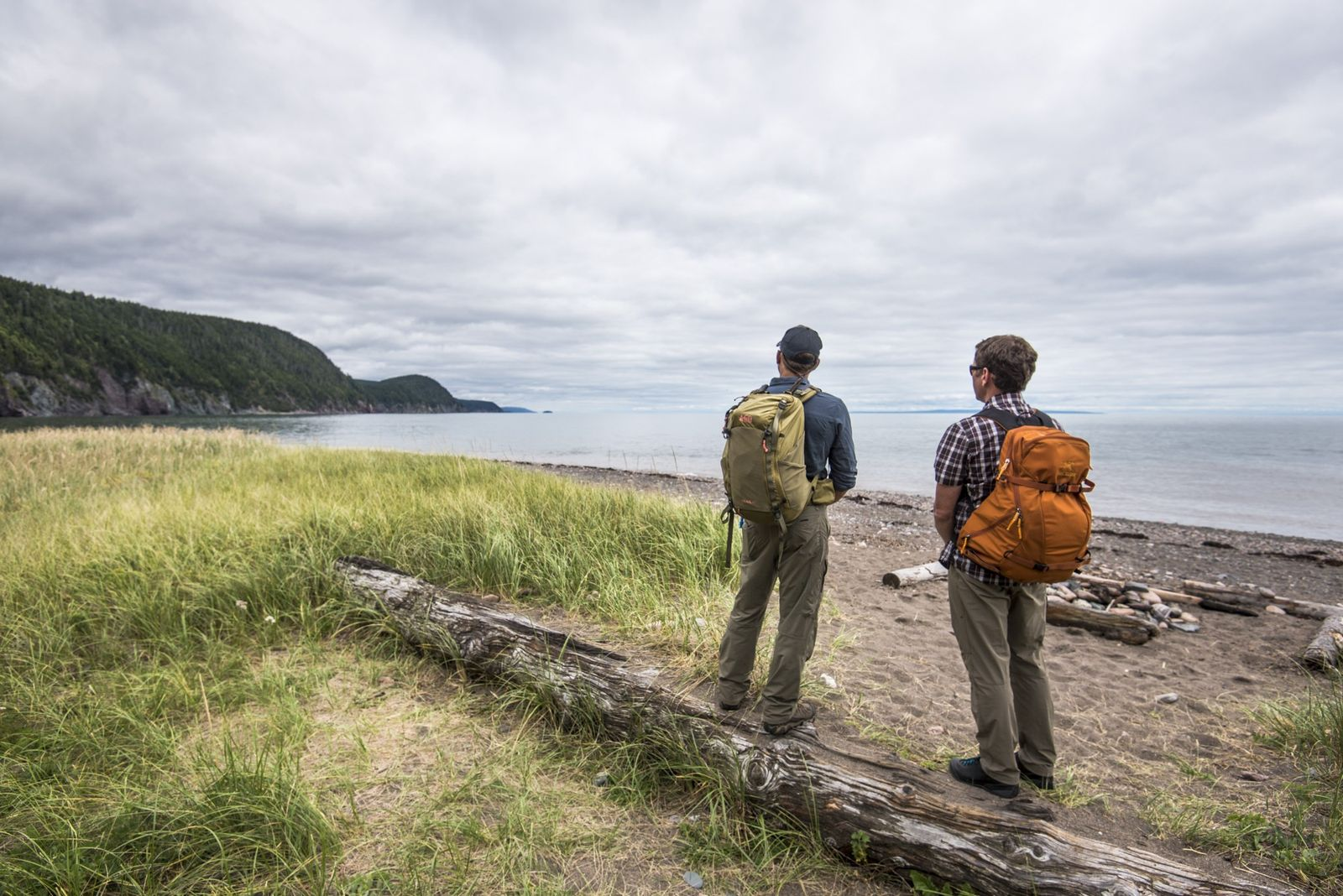 The Fundy Footpath offers access to the longest stretch of wilderness coastline on the Eastern seaboard.