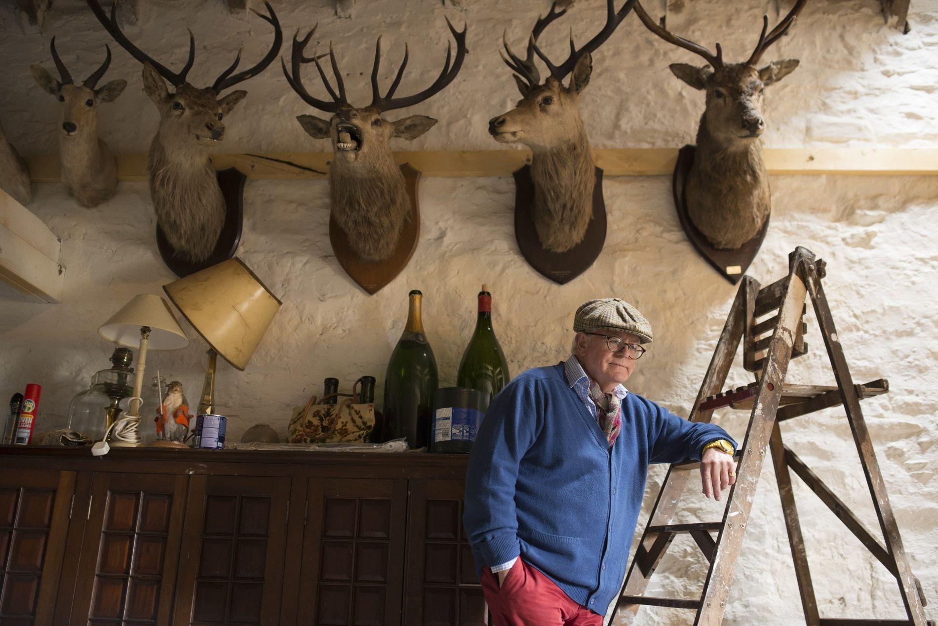 Allan Macpherson-Fletcher sold his estate, Balavil, to a Dutch entrepreneur in 2015—no regrets.