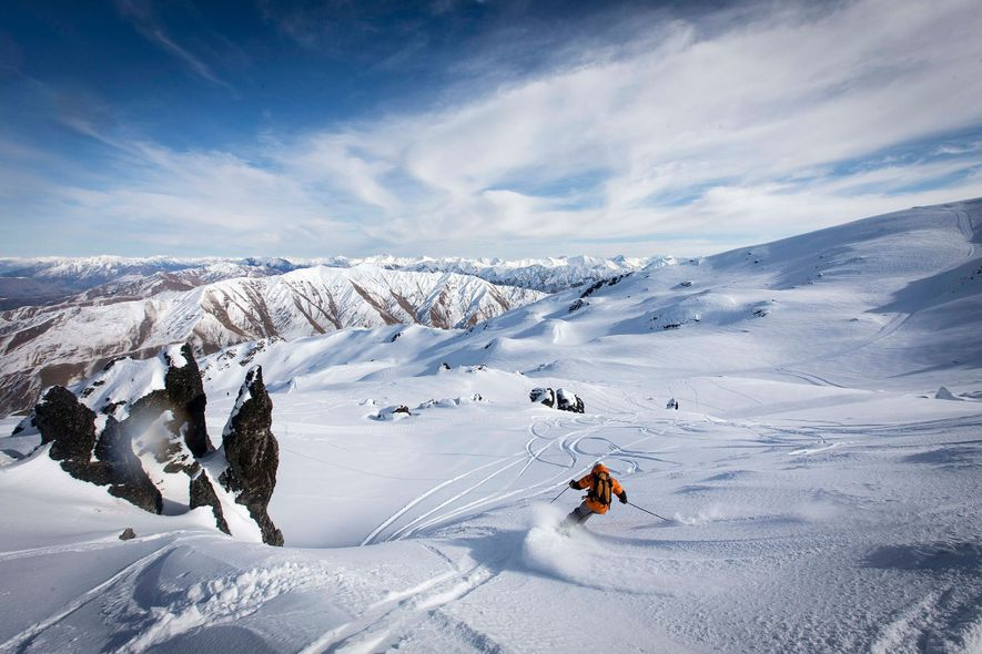 The vast backcountry of the Southern Alps houses Soho Basin, an alpine resort whose daily visitor ...