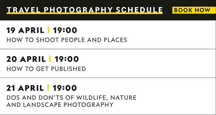 Our travel photography sessions will provide invaluable advice on all aspects of the craft.