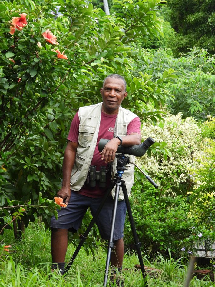Newton George used to go birdwatching with his father as a boy, igniting his passion for ...