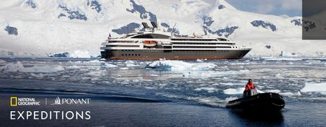 National Geographic Expeditions and PONANT Announce Global Cruise Partnership