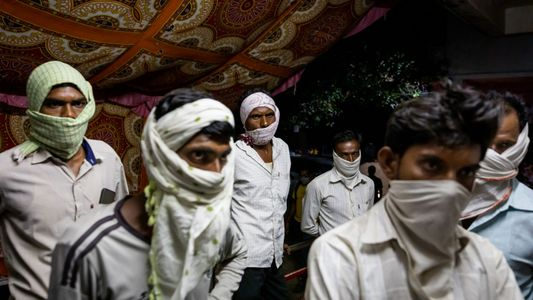 See how rural India has been overrun by the pandemic's second wave