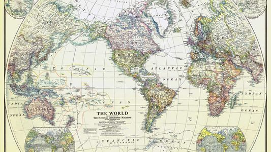 How World War I launched mapmaking at National Geographic