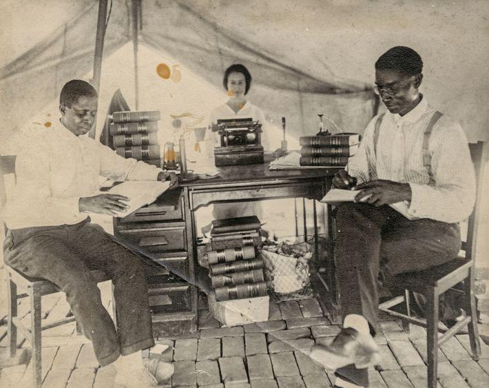 NGM Tulsa arhival (B.C. Franklin)