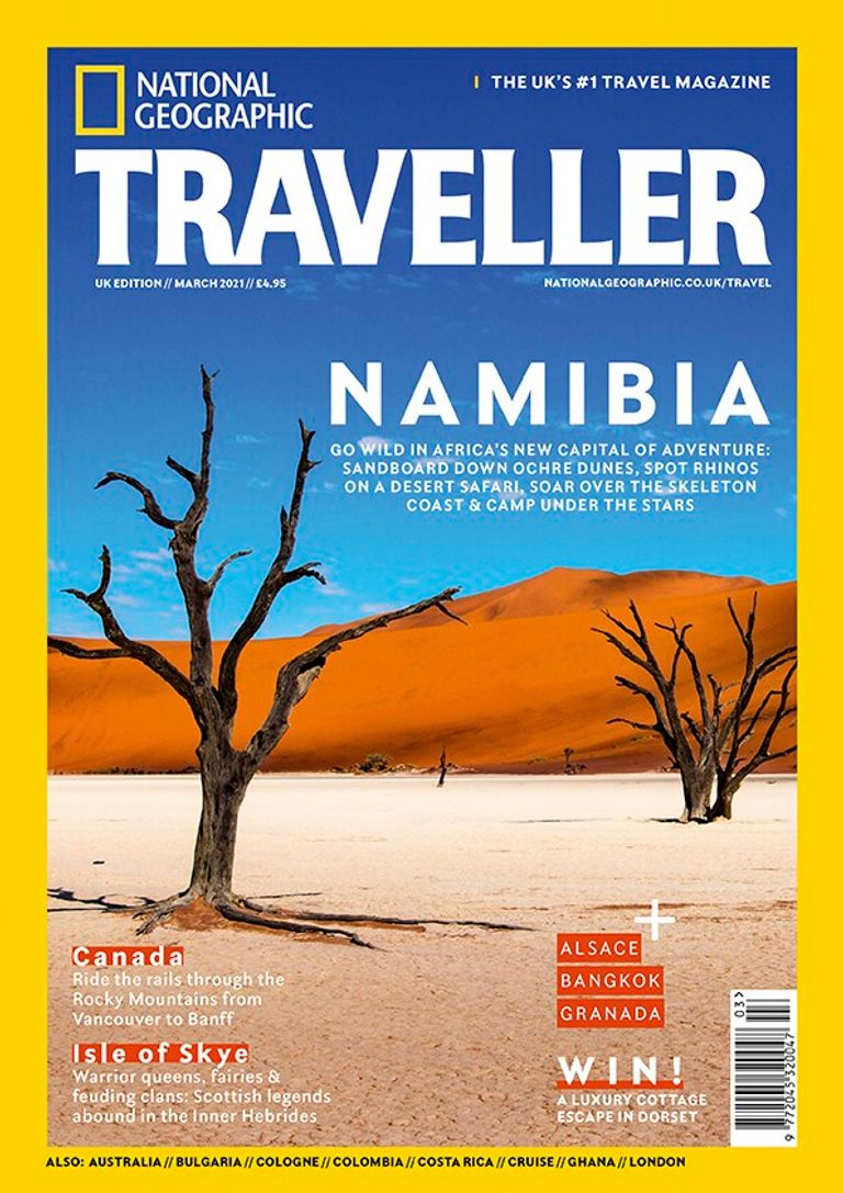 The March 2021 issue of National Geographic Traveller