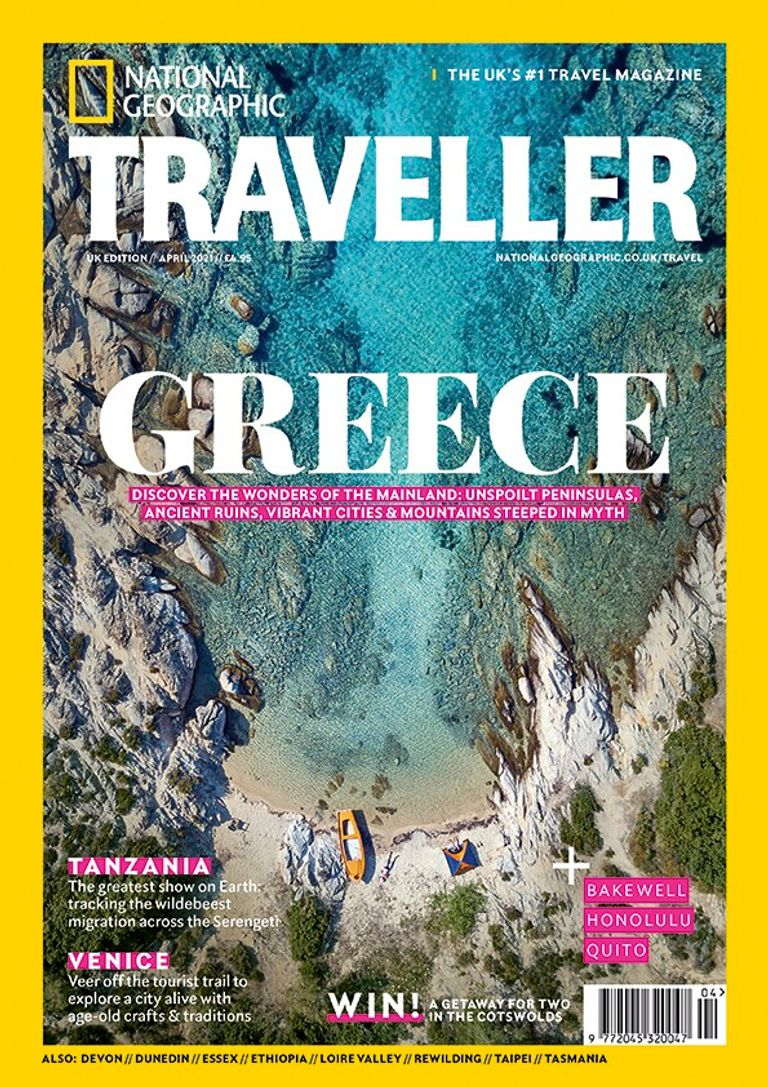 The April 2021 issue of National Geographic Traveller