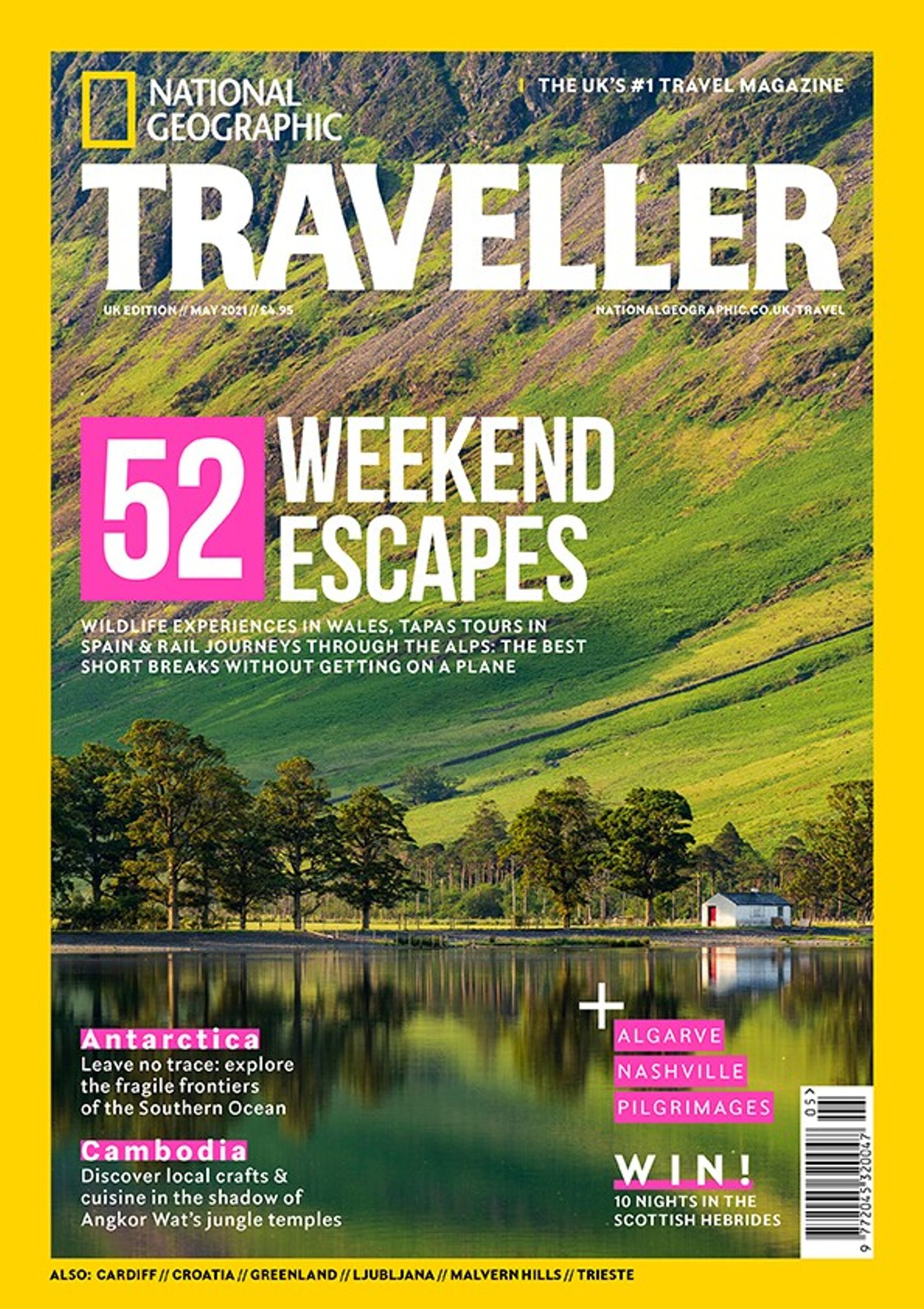 The May 2021 issue of National Geographic Traveller