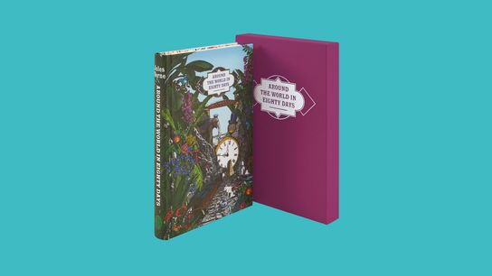 Around the World in Eighty Days from The Folio Society worth £39.95.