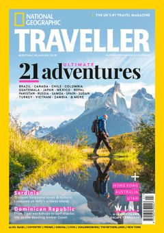The Jul/Aug 2021 issue of National Geographic Traveller