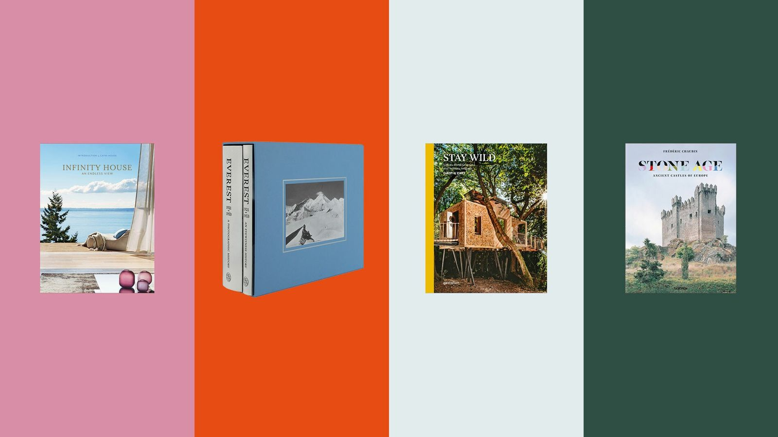 Four fantastic new travel photography books for your coffee table.
