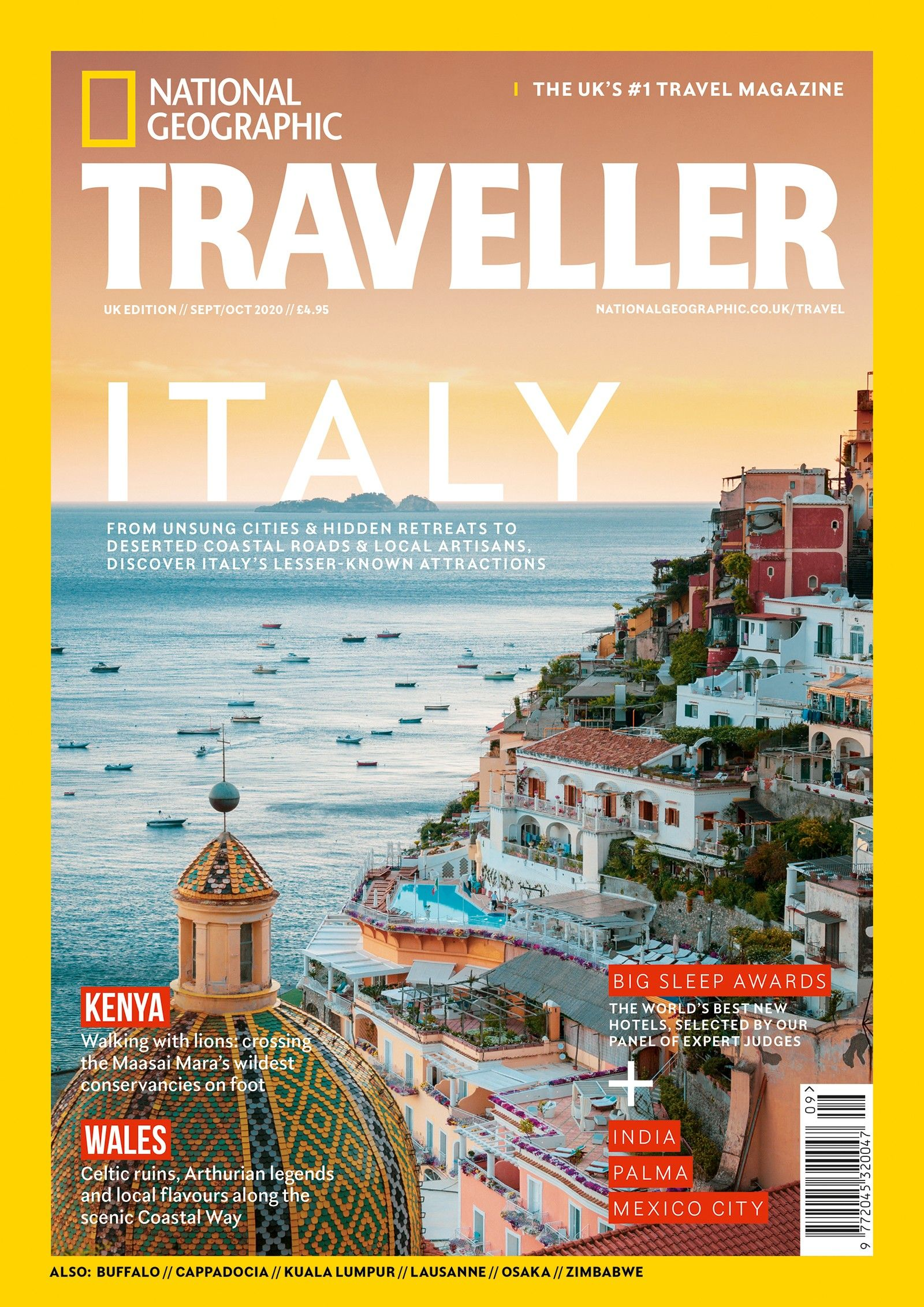 The Sept/Oct 2020 issue of National Geographic Traveller (UK)