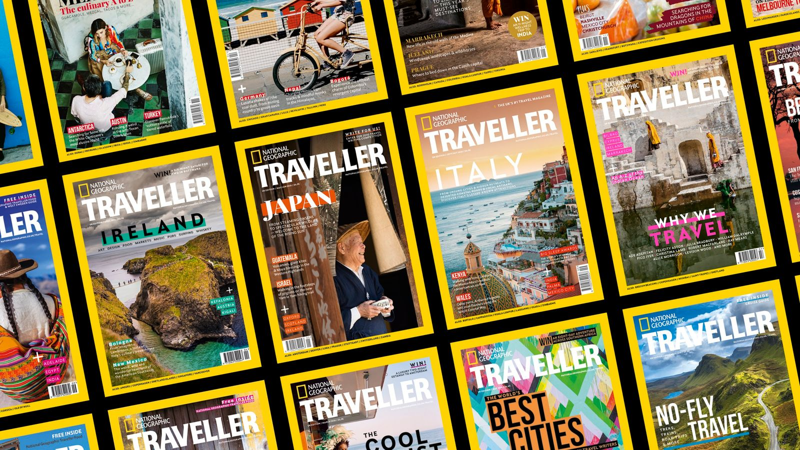 Packed full of compelling storytelling, insightful features and 'you-are-there' photography, National Geographic Traveller is here to inspire you ...