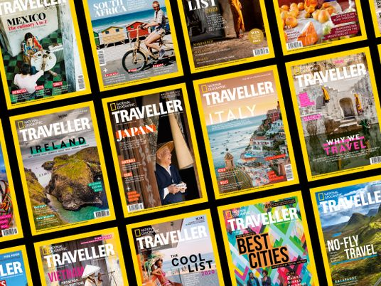 Vote for National Geographic Traveller (UK) in the British Travel Awards 2020