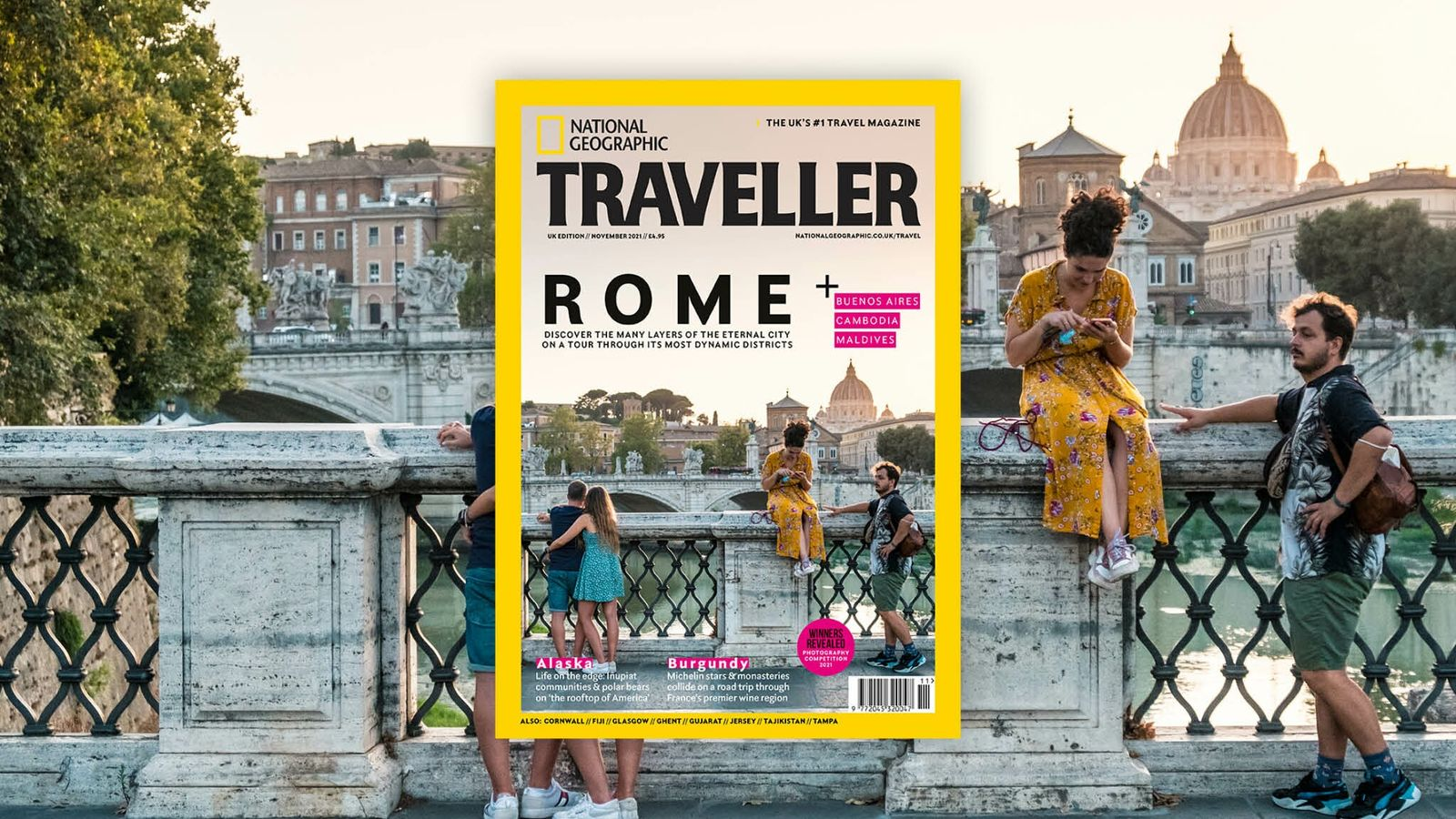 The November 2021 issue of National Geographic Traveller (UK).