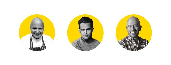 Meet the panel: Aldo Zilli, Joe Hurd and Joe Fattorini.