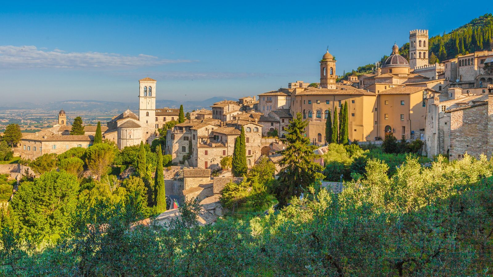 As well attracting legions of Christian pilgrims, Assisi in Italy has become a popular meeting place ...