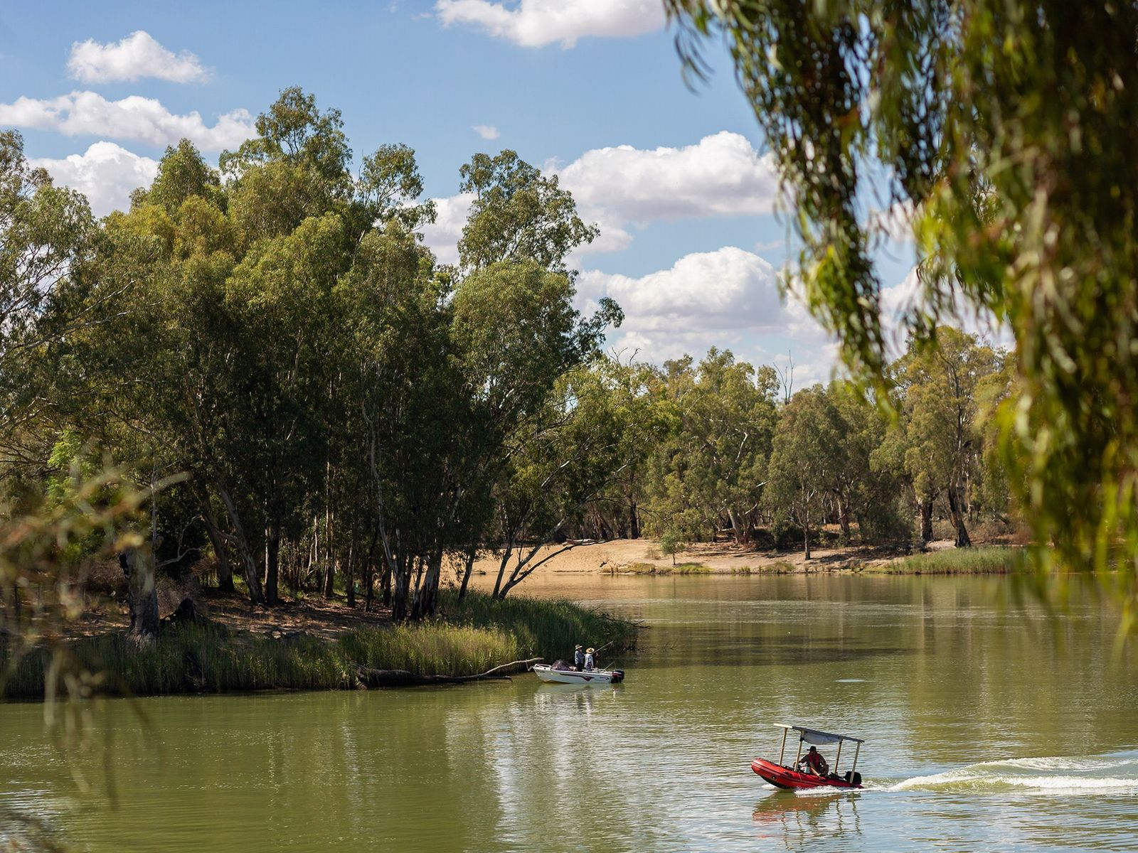 Australia's longest river cuts a slow course from the remote Snowy Mountains of New South Wales ...