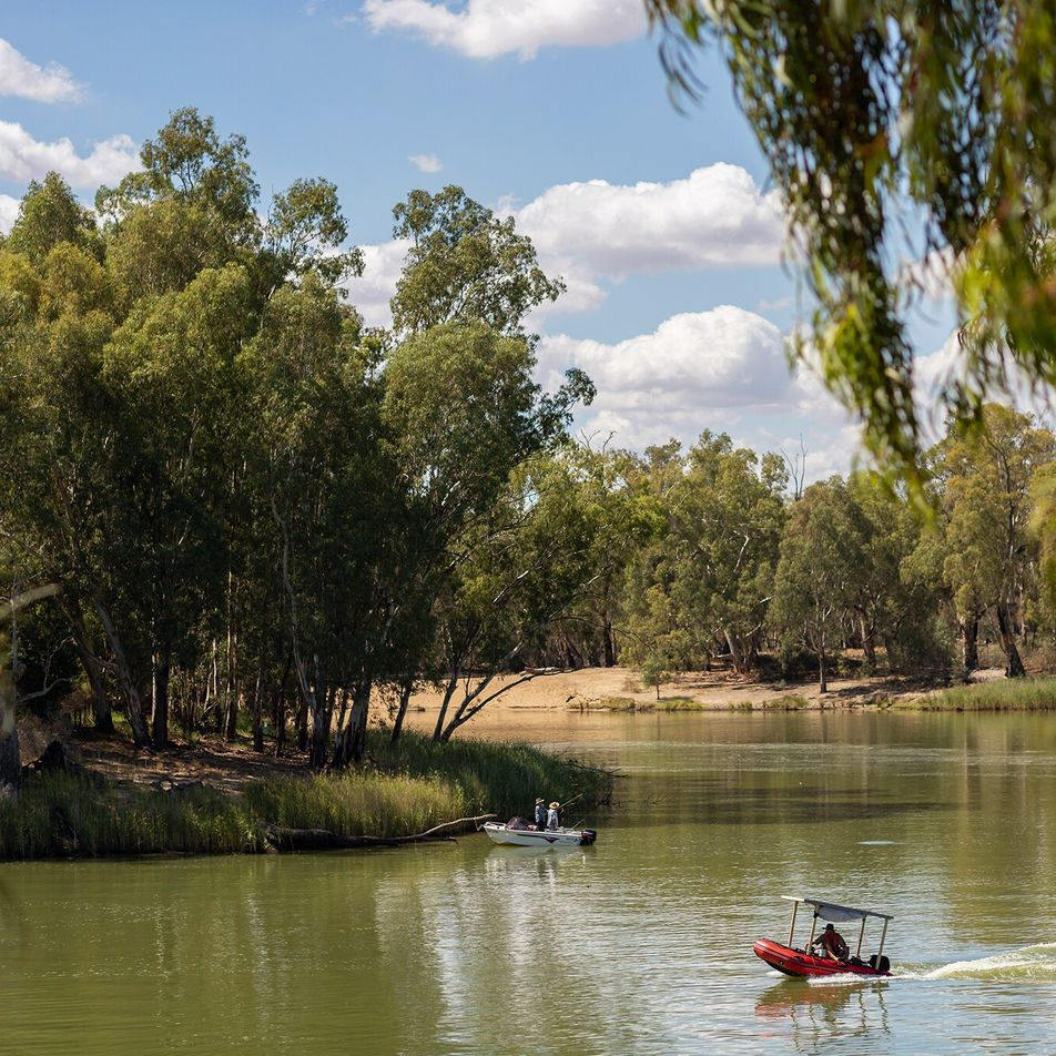 Tracing the story of a nation along southern Australia's winding Murray River