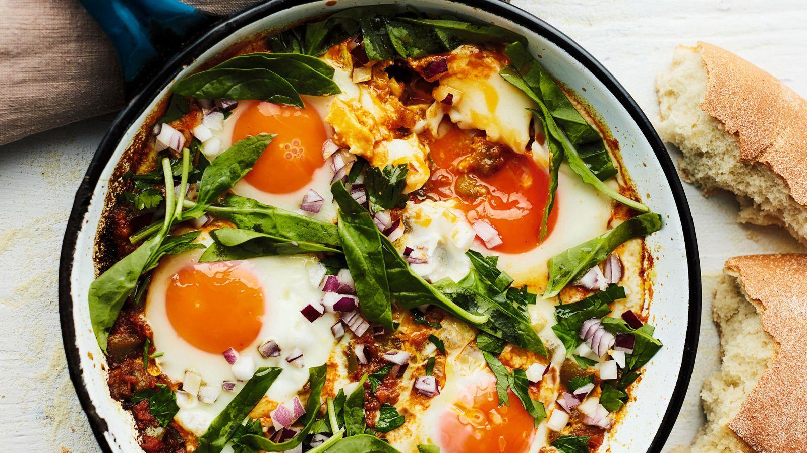 Berber breakfast eggs