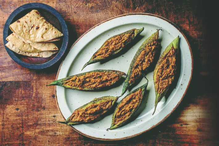 Romy Gill combines her knowledge of Indian spices with seasonal British ingredients.