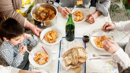 Breaking bread: dining with the Di Meo family in Scauri, Italy