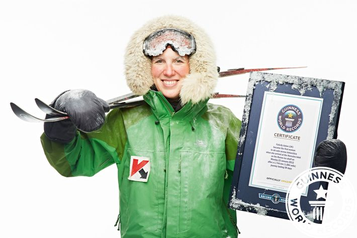 Polar explorerFelicity Aston MBEis an Antarctic scientist turned author, speaker and expedition leader.