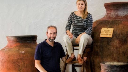 After pooling their savings and buying a patch of land in Alto Alentejo, central Portugal, vintners Jorge ...