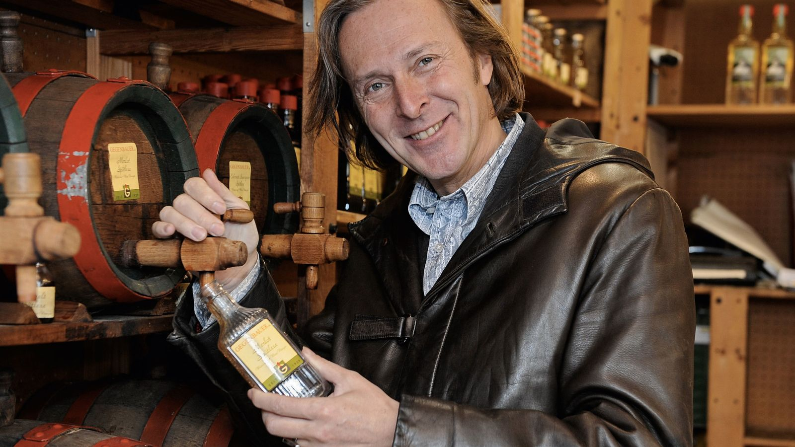 They call Erwin Gegenbauer the 'Vinegar Pope' as it's said he makes the best vinegar in ...