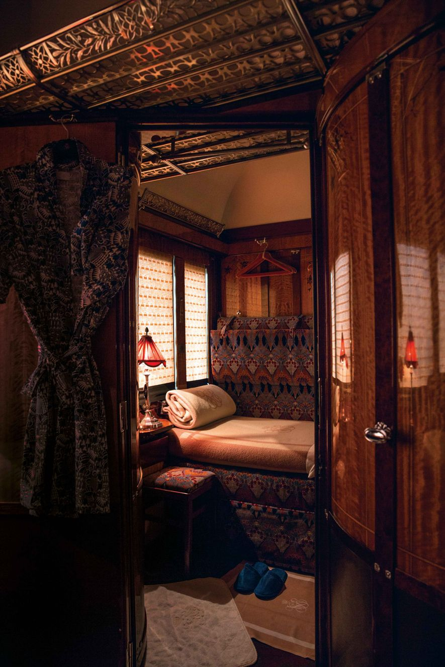 The Orient Express — now known as the Venice Simplon-Orient-Express — is inextricably linked with the golden age of travel, captured by Agatha Christie.