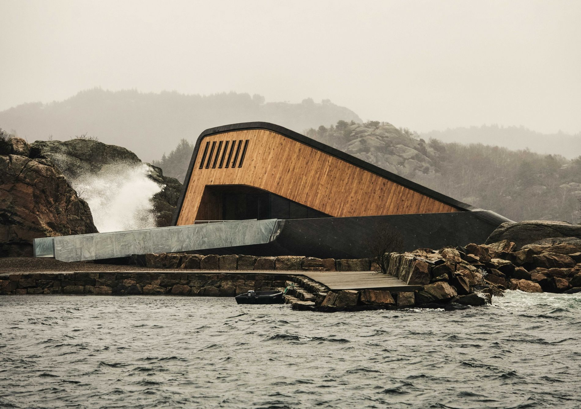 The restaurant Under in Norway is as much about the food as the dramatic setting.