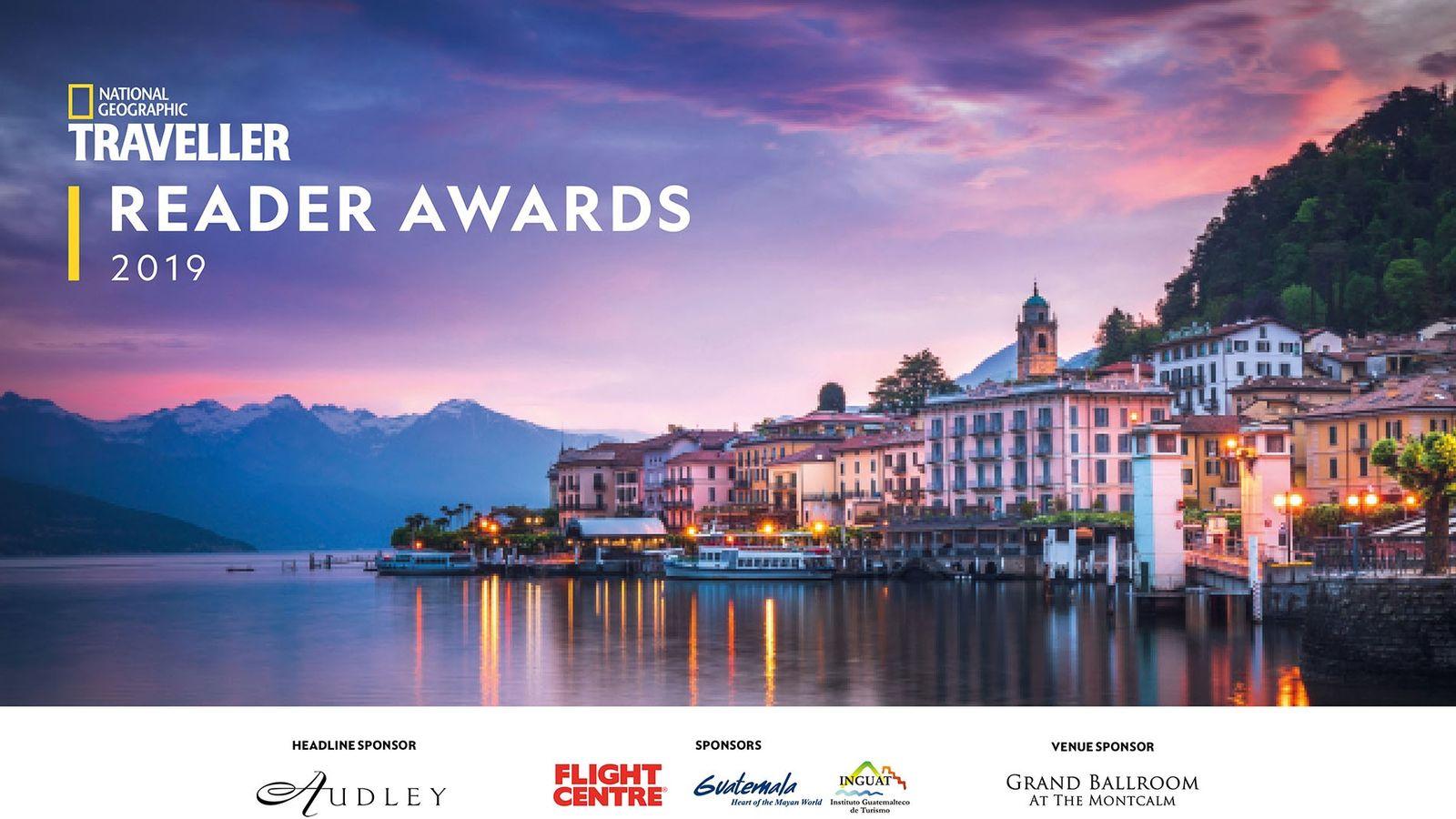 National Geographic Traveller Reader Awards 2019.