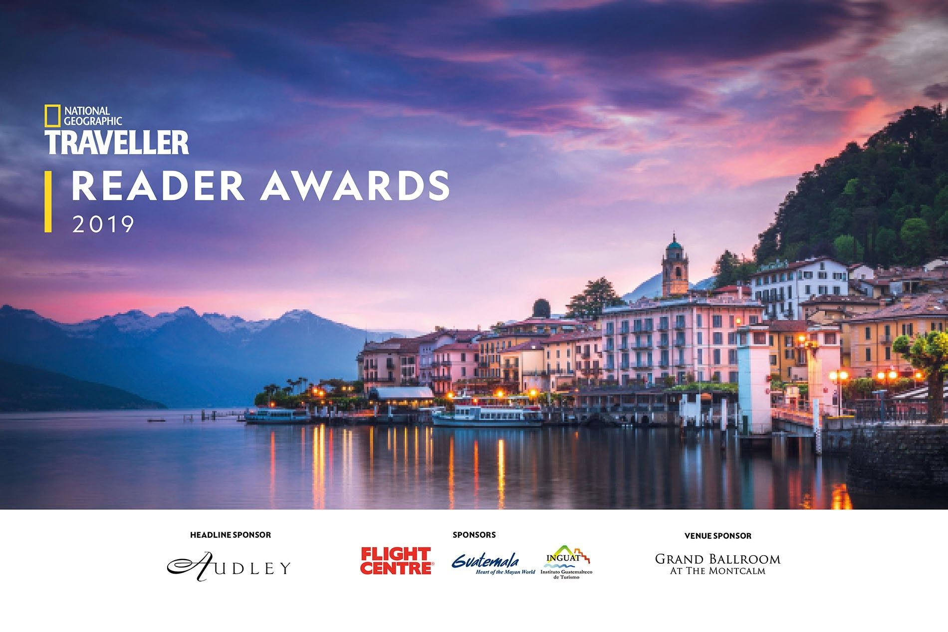 National Geographic Traveller Reader Awards 2019.