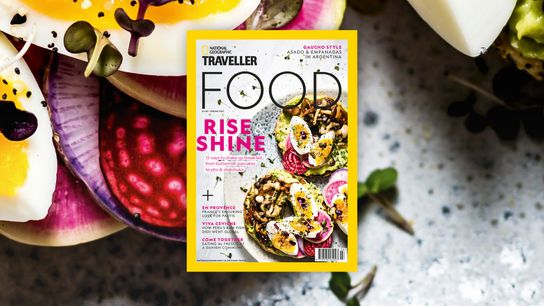 Issue 11 (spring 2021) of National Geographic Traveller Food.