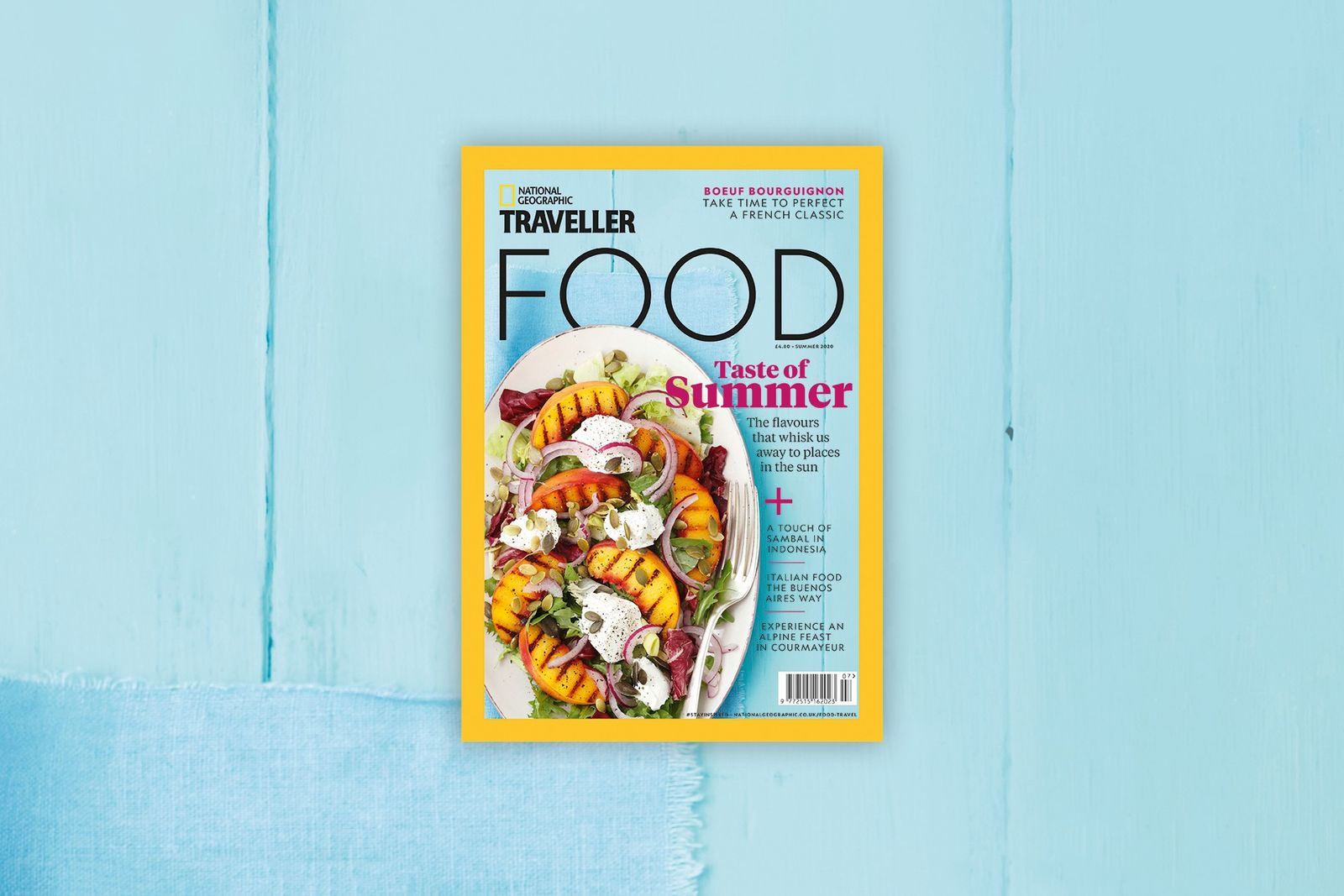 Inside the new issue of National Geographic Traveller Food