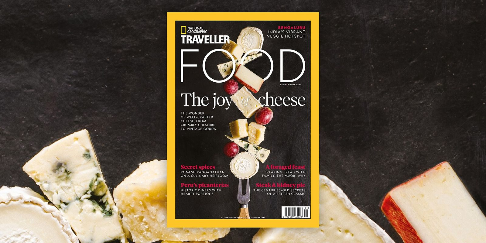 Inside the latest issue of National Geographic Traveller Food