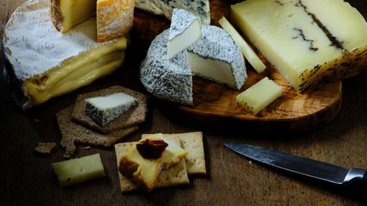 Create the perfect cheese board with these eight artisan varieties
