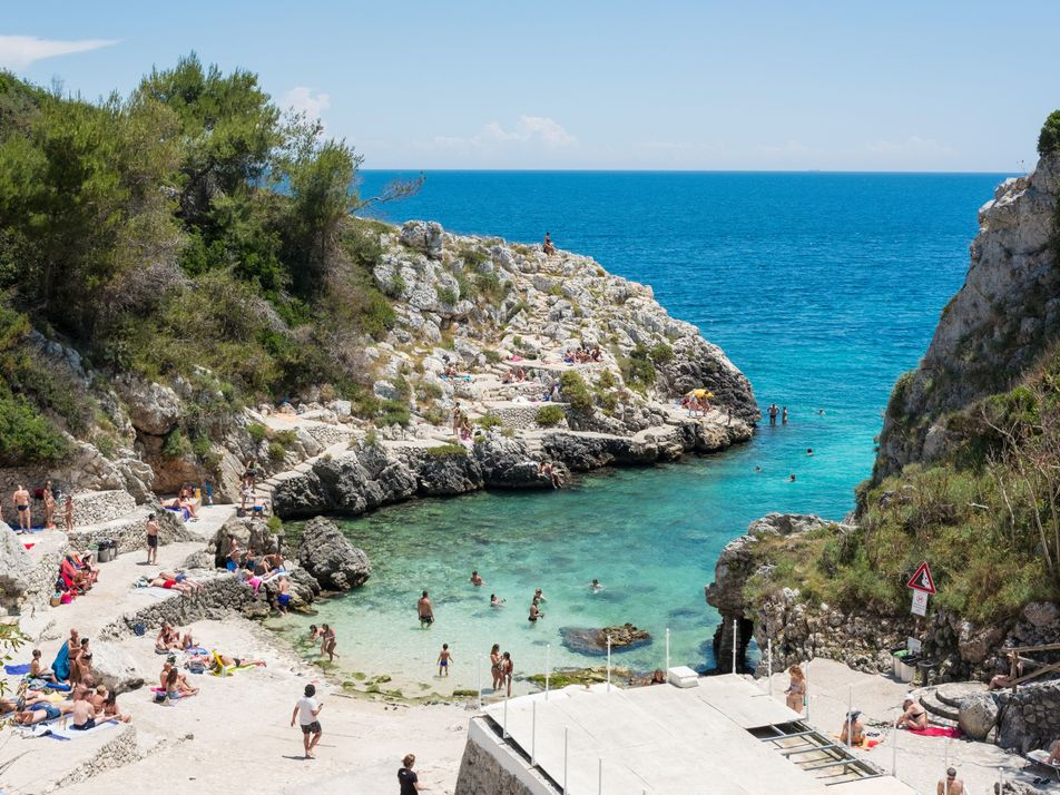 In pictures: the villages, beaches and grottoes that dot the Puglia coast