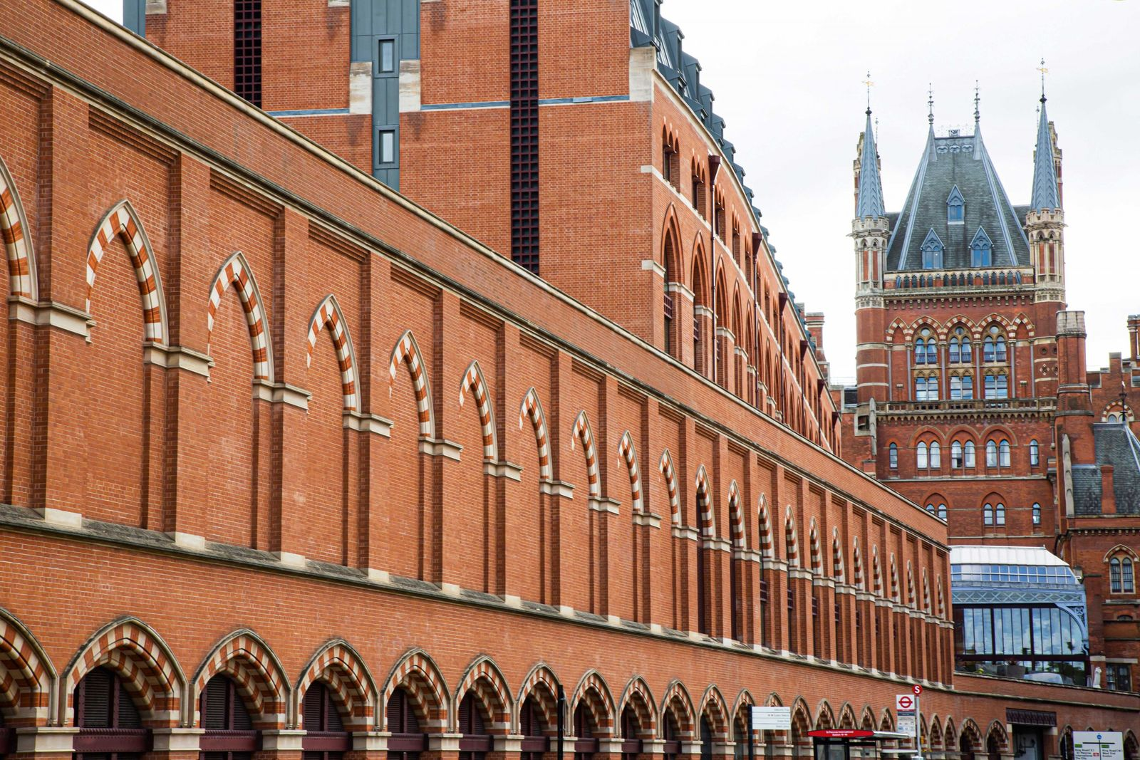 Sir John Betjeman, a railway and architecture enthusiast, led a campaign to save King's Cross' iconic ...