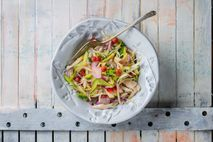 Chef Romy Gill's kachumber salad is quick to throw together, and makes a fresh accompaniment to ...